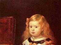Porträt der Infantin Maria Margarita, Tochter Philipps IV.