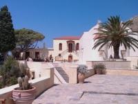 Inside Preveli Monastery Crete Greece