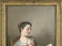 Jean-etienne Liotard - La liseuse