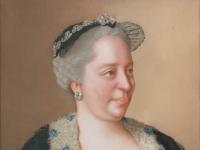 Jean-etienne Liotard - Maria Theresia van Oostenrijk