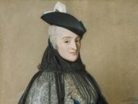 Jean-etienne Liotard - Portret van Mme