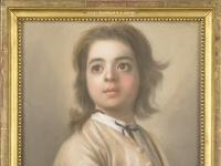 Jean-etienne Liotard - Studie van een jongen ter halve lijve