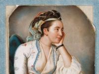 Jean-Etienne Liotard: Türkisch bekleidete Frau (1740 - 1750?)