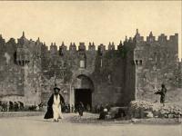 Jerusalem damascus gate 1912