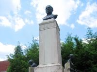 Johns Hopkins Monument, Johns Hopkins University, Baltimore, MD