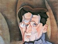 Juan Gris: Portrait Maurice Raynal (1911)