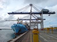 K Crane Visit ZPMC In Ports of Auckland II