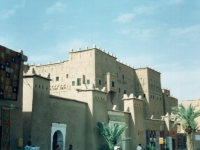 Kasbah Taouirt, Ouarzazate, Marokko