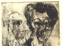 Ernst Ludwig Kirchner: Selbstbildnis
