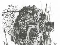 Ernst Ludwig Kirchner: Selbstbildnis unter Morphium