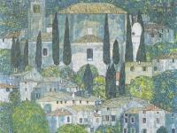 Klimt_-_Kirche_in_Cassone_-_1913