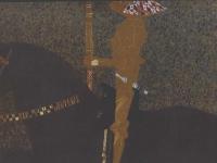 Klimt_Das_Leben_ein_Kampf_-_Der_goldene_Ritter_-_1903