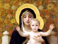 Heilige Jungfrau mit der Lilie (La Vierge au lys)