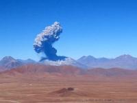 Lascar Eruption 2006, Chile