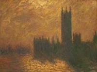 Le Parlement de Londres Monet