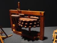 Maschine von Leonardo da Vinci