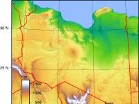 Libya_Topography