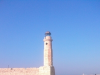 Lighthouse Rethimno Crete Greece