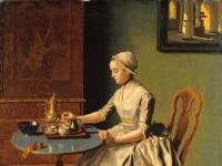 Liotard-Lady Pouring Chocolate