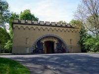 Das Löwentor der Feste Kaiser Alexander in Koblenz