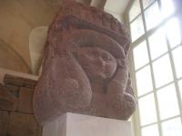Chapiteau hathorique provenant du grand hall jubilaire d´Osorkon II à Bubastis - XXIIe dynastie - Musée du Louvre - Paris