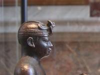 Statuette des Pharaos Taharqa aus der 25. Dynastie, Sammlung Louvre, Paris