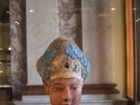 Statuette aus Holz, Amenophis I, 18. Dynastie, Sammulung des Louvre, Paris