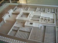 Modell des Ramesseums im Louvre Museum