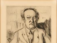 Lovis Corinth-Gerhart Hauptmann 1917