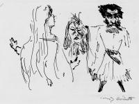 Lovis Corinth Skizze zu einem orientalischen Maerchen
