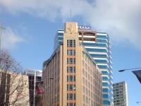 MLC Skyscraper Building In Auckland CBD