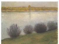 Macke_-_Am_Rhein_bei_Hersel