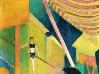 Macke_-_Seiltaenzerin_(1913)