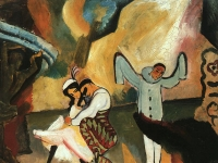 Macke_Russisches_Ballett_1