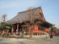 Main building, Sensoji Temple, Asakusa, Tokyo