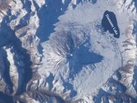 Maipo Vulkan, Mendoza, zw. Chile u. Argentinien.