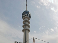 Mamoon communications tower in Baghdad