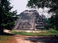 maya-Pyramide, Quatemala