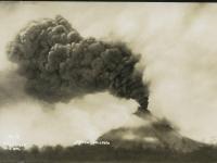 Eruption des Mayon am 21 Juli 1928.