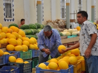 Melons_in_Tunis_Central_Market
