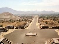 Straße des Todes, Teotihuacán, Mexiko.