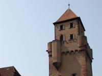 Mainzer Tor (Spitzer Turm), erbaut um 1400, in Miltenberg