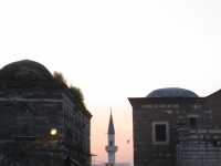Minaret in Istanbul