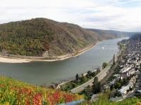 Das Mittelrheintal bei Oberwesel