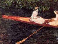 Monet_-_Boot_auf_der_Epte