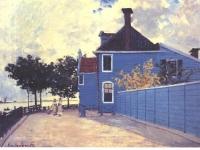 Monet_-_Das_blaue_Haus_in_Zaandam