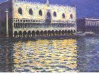 Claude Monet: Monet - Der Dogenpalast in Venedig (1908)