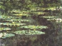 Claude Monet: Nymphéas, Musée d´art moderne André Malraux, Le Havre, France.(1904)