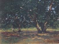 Monet_-_Wald_von_Fontainbleau