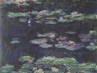 Claude Monet: Weiße und gelbe Seerosen (1915-17)